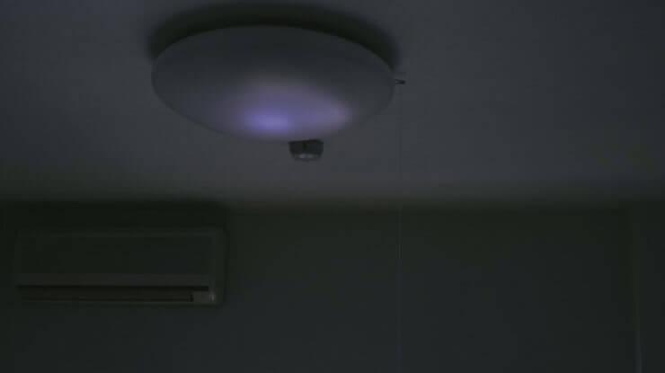 停電時は真っ暗
