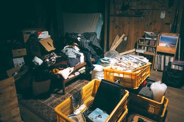 備蓄品の保管場所